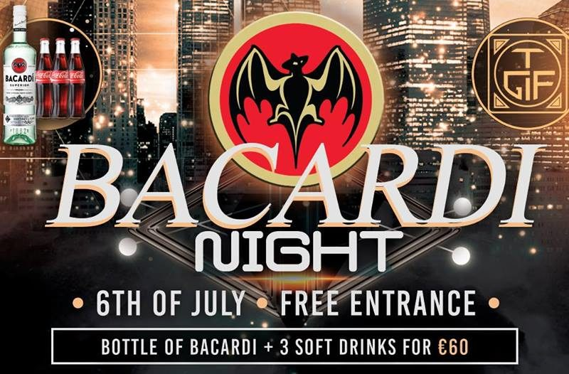 Coverfoto 'Bacardi Night'