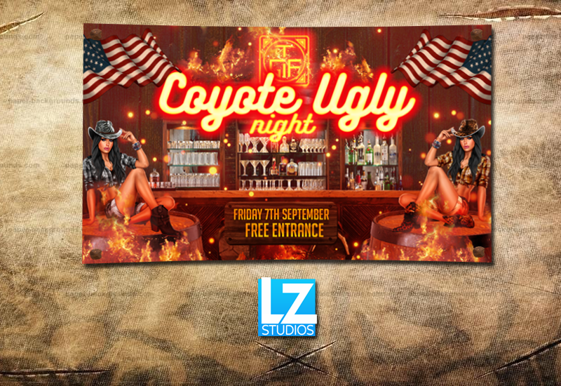 Coverfoto 'Coyote Ugly Night'