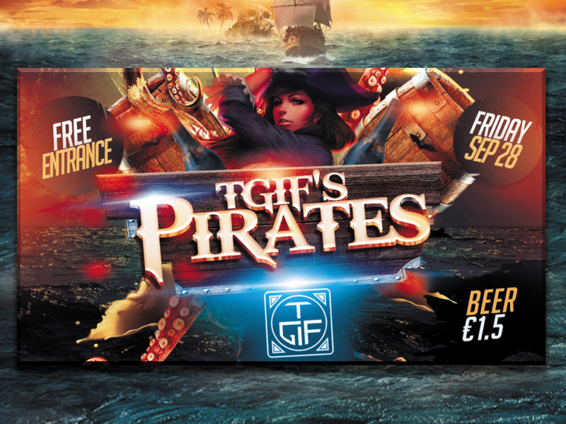 Coverfoto 'TGIF Pirates'